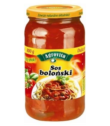 Agrovita sos boloński 800g