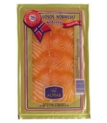 Almar100g łosoś norweski wędzony