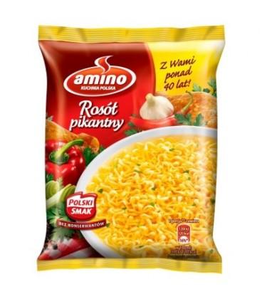 Amino Rosół pikantny Zupa błyskawiczna 57 g