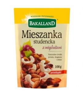 Bakalland Mieszanka studencka z migdałami 100 g
