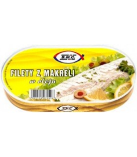 BMC filet z makreli w oleju 175g