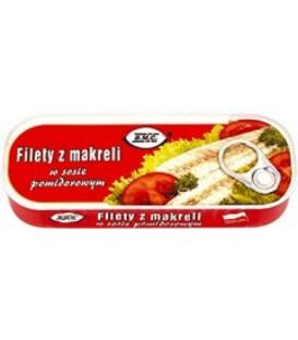 BMC filet z makreli w pomidorach 175g