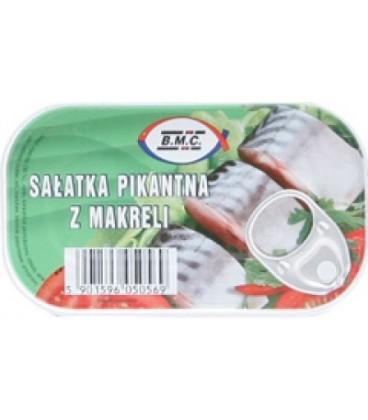 BMC125g sałatka pikantna z makreli