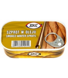 BMC125g szprot w oleju WINTER