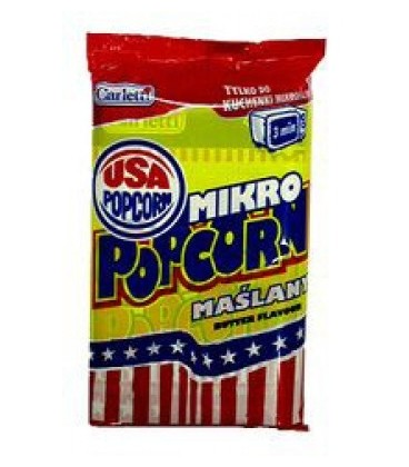 Carletti Micro popcorn maślany 100g
