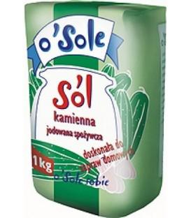 Sól kamienna spożywcza jodowana 1 kg