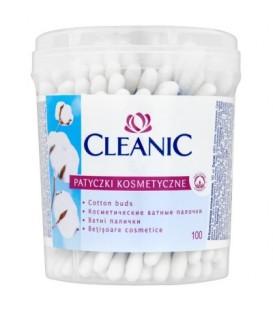 Clean100 Dzidziuś patyczki higienicz.okrągłe opak.