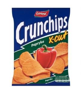 Crunchips X-Cut Papryka 160g chipsy