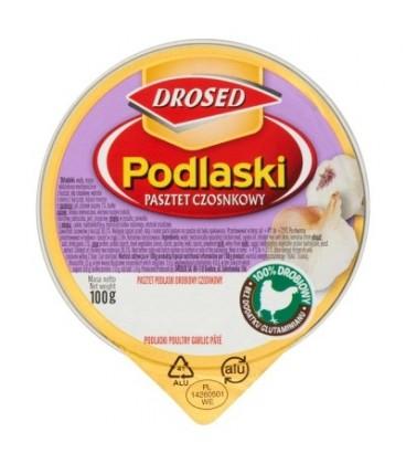 Drosed Podlaski Pasztet czosnkowy 100 g