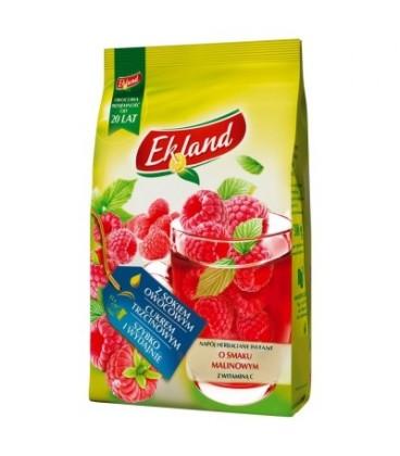 Ekland Napój herbaciany instant o smaku malinowym z witaminą C 300 g