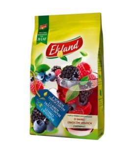Ekland Napój herbaciany instant o smaku owoców leśnych z witaminą C 300 g
