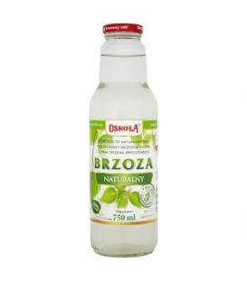 Oskoła Brzoza Naturalny sok 750 ml