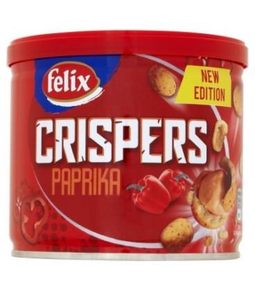 Felix Crispers Orzeszki ziemne smażone w chrupkiej skorupce o smaku paprykowym 110 g
