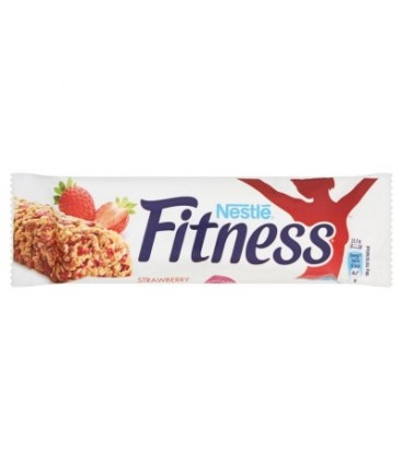 Nestlé Fitness Strawberry Batonik zbożowy 23,5 g