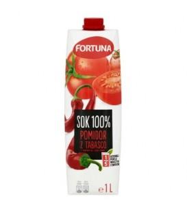 Fortuna Sok 100% pomidor z tabasco 1 l