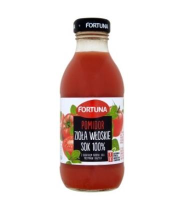 Fortuna Pomidor zioła włoskie Sok 100% 300 ml