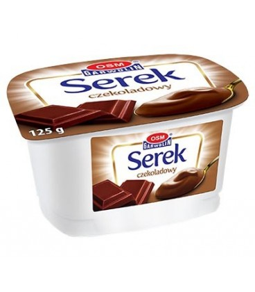 Garwolin serek homogenizowany 125g czekoladowy