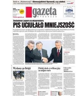 Gazeta Wyborcza+dod 2,50