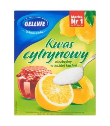 Gellwe Kwas cytrynowy 20 g