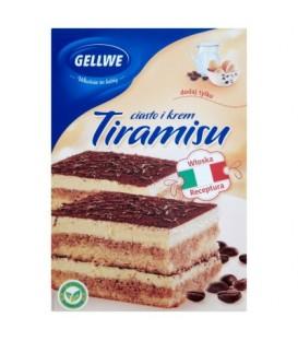 Gellwe tiramisu ciasto+krem 450g ciasto