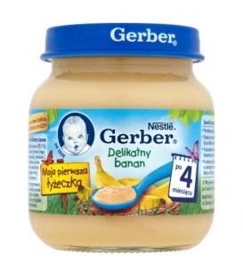 Gerber Moja pierwsza łyżeczka Delikatny banan po 4 miesiącu 125 g