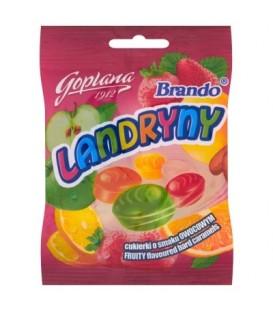 Goplana Brando Landryny Cukierki o smaku owocowym 90 g