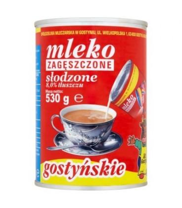 SM Gostyń Mleko gostyńskie zagęszczone słodzone 8,0% 530 g