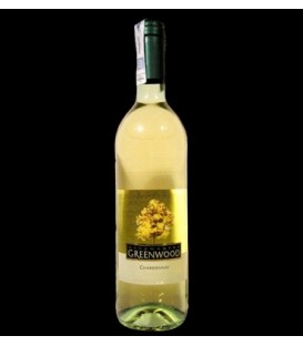 Greenwood Chardonnay białe półwtrawne wino 0,75l