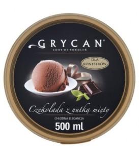 Grycan Lody o smaku mięta z czekoladą 500 ml