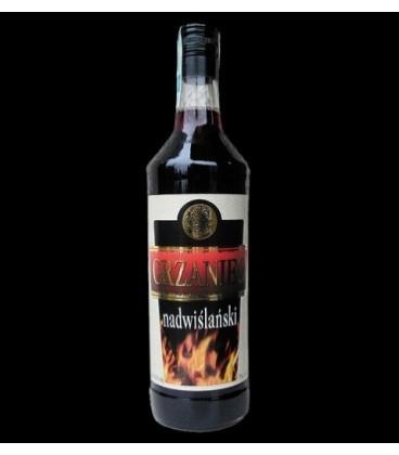 Grzaniec Nadwiślański  czerwone słodkie wino 1l