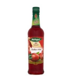 Herbapol Owocowa Spiżarnia Dzika róża Syrop owocowy 420 ml