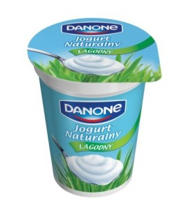 Danone Jogurt naturalny łagodny 370 g