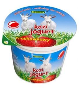Danmis Jogurt Kozi 125g Truskawka