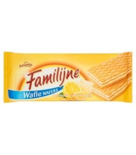 Familijne Wafle o smaku cytrynowym 8x180g
