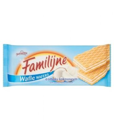 Familijne Wafle o smaku kokosowym 180g