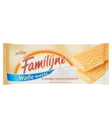 Familijne Wafle o smaku śmietankowym 8x180g