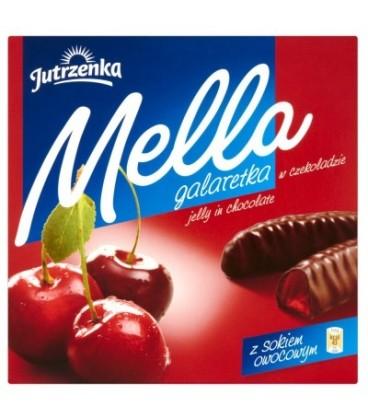 Mella galaretka w czekoladzie o smaku wiśniowym 190g