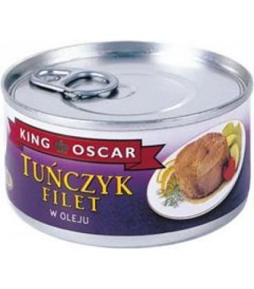 King Oscar stek tuńczyk olej 195g