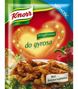 Knorr przyprawa do gyrosa 25g
