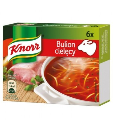 KNORR BULION CIELĘCY 60G