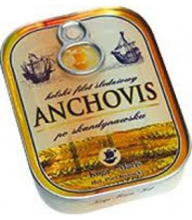 Koga anchovis-filety śledziowe po skandynawsku 90g