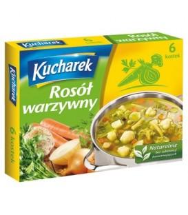 Kucharek Rosół warzywny 60 g (6 kostek)