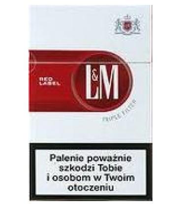L&M red papierosy