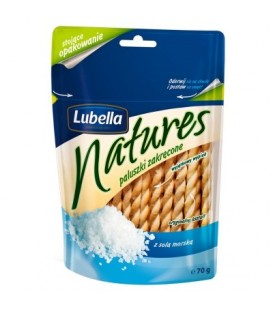 Lubella natures paluszki z solą morską 80g