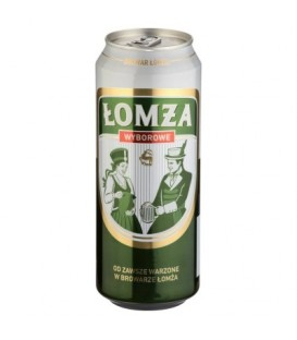 Łomża Wyborowe Piwo jasne 500 ml