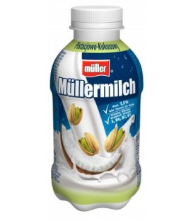 Müller Müllermilch pistacjowo-kokosowy Napój mleczny 400 g