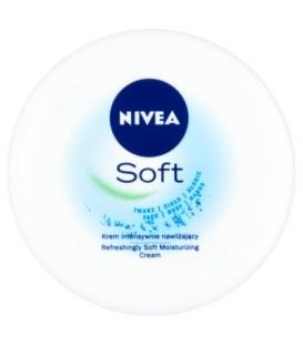 Nivea soft krem nawilżający skóra wrażliwa 200ml