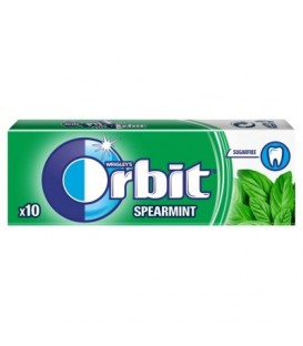 ORBIT SPEARMINT - 10 DRAŻETEK TEST SZT