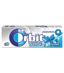 ORBIT WHITE FRESH MINT - 10 DRAŻETEK  TEST SZT
