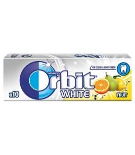 Orbit White Fruit Guma do żucia bez cukru 14 g (10 drażetek)